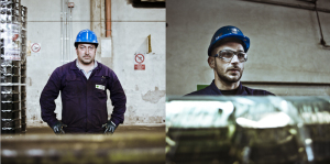 industrial corporate photography for a celebrating book, annual report.