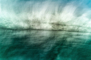 Fine art abstract photography of the ocea