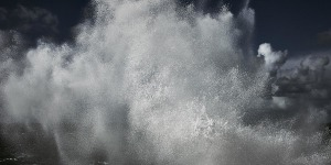 Abstract, Abstract fine art image of the sea in Portugal