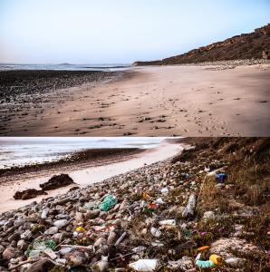 plastic, seascapes, fine art,