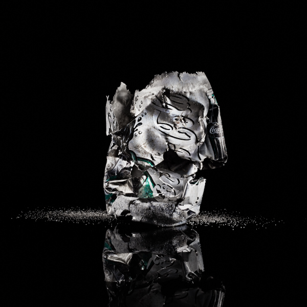 Fine art photography still lifes about plastic garbage in the ocean