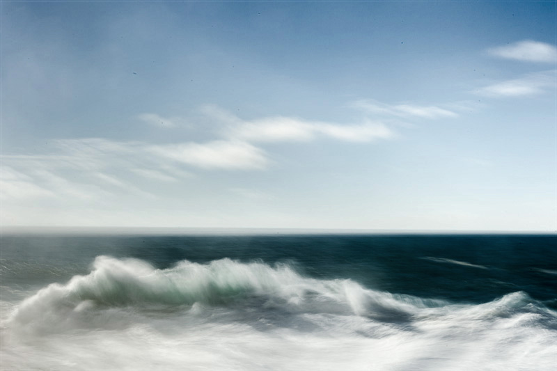 Fine art photo of the atlantic ocean in Portugal along the coast of Alentejo
