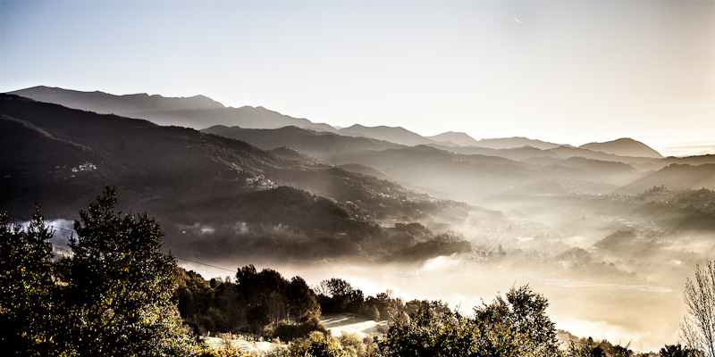 fine art photo of a landscape in Garfagnana, Sommacolonia, Barga, Lucca.#landscape#panoramic