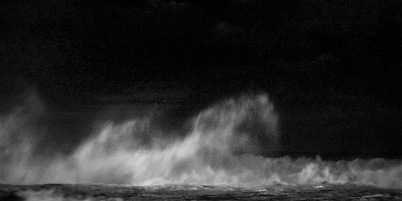 fine art black and white photography. a wave breaking on the rock.#ocean#wave#mare#sea