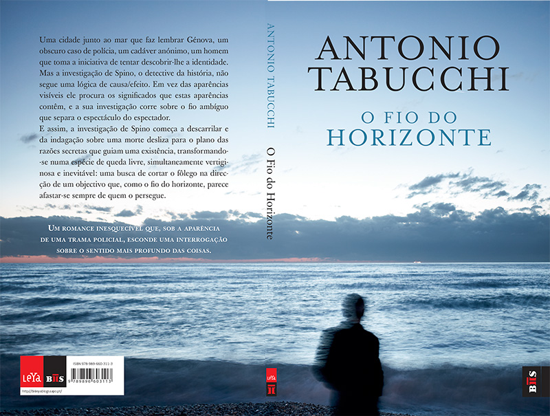 fine art seascape taken for the front cover of The Edge of the Horizon written by Antonio Tabucchi