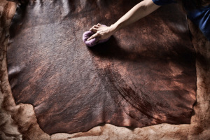 Fine art and corporate photography done for commercial use. Client, Genuine Italian Vegetable-Tanned Leather Consortium