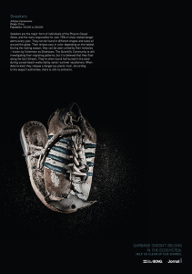 Advertising campaign with fine art image from the series I Travelled the Seven seas and I'm still alive