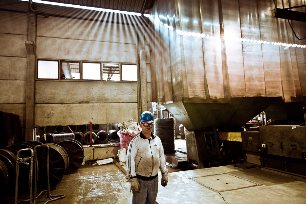 Cortporate industrial photography at Cavatorta, Italy