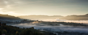 Fine art landscape photography of the Serchio Valley inTuscany