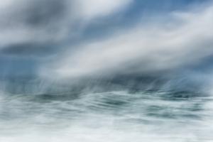 ocean, wave, abstract, fine art,