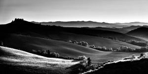 Fine art photography of Tuscan Landscape near Pisa
