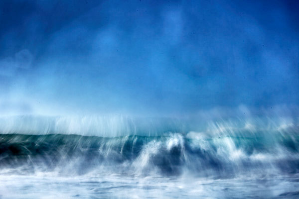 fine art abstract image of the ocean