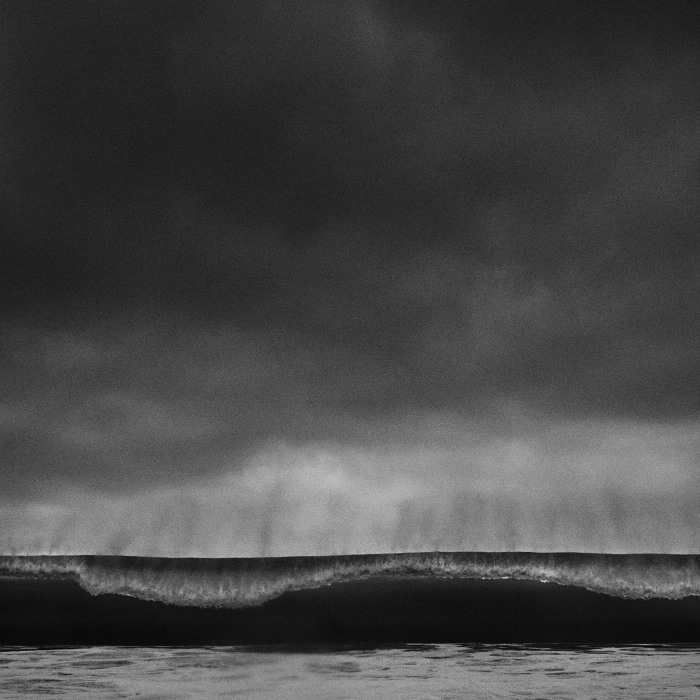 abstract black and white fine art photo of the ocean, seascape photography in Portugal, Alentejo