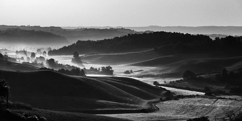Landascape fine art photography of Tuscany, in an area near Pisa, Chianti