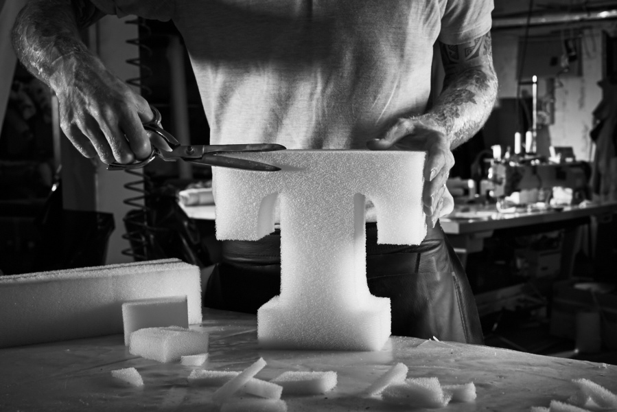 artisan at work in italy
