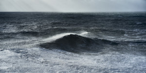 Fine art photography of some seascapes during a big swell in Nazarè, Portugal along the atlantic coast
