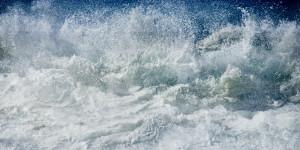 Fine art abstract seascape of the ocean in Sines, Alentejo Portugal