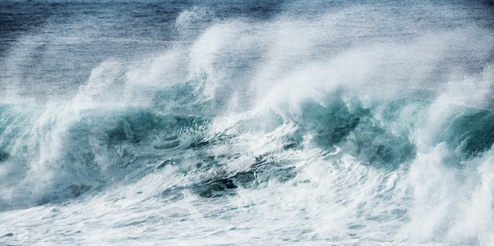 fine art abstract image of a wave taken along the atlantic ocean . Abstract seascape